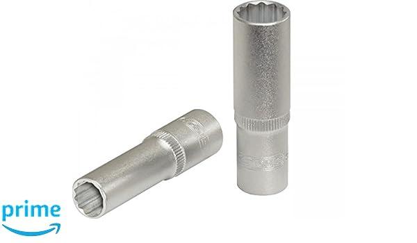 "KS Tools 1//4/"" CHROMEplus 12-kant-Stecknuss 8mm"