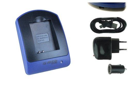 Ladegerät (USB, KFZ, Netz) für JVC Adixxion / Toshiba X-Sports / Silvercrest / Medion Action Cams ..s. Liste
