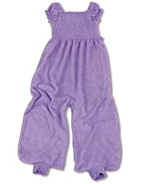 Baby Boum 6-24 Months Tog Jumpsuit cum Sleeping Bag with Smock Detail (Lilas Lilac, Firil Collection)