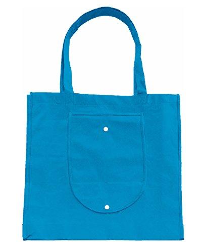 Bags By Jassz , Damen Schultertasche Mittelblau