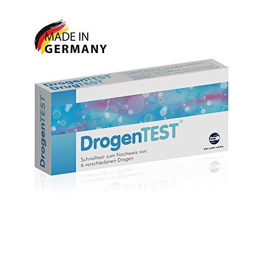 DrogenTEST - Urintest (Amphetamine, Benzodiazepine, Kokain, Marihuana (THC), Methadon, Opiate/Morphin)