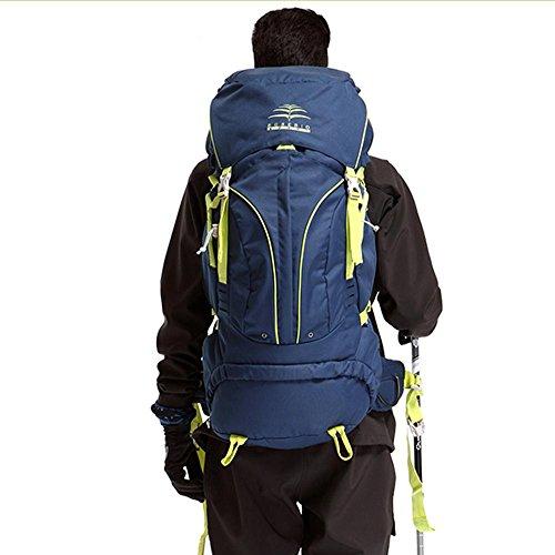 BUSL borse alpinismo equitazione zaino spalle da trekking impermeabili M 60L corsa esterna multifunzionale . b b