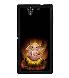 Fiobs Designer Back Case Cover for Sony Xperia C4 Dual :: Sony Xperia C4 Dual E5333 E5343 E5363 (God Bhagvan Temple Dress Sports Typography Spritual)