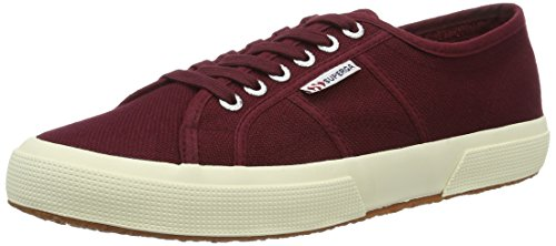SUPERGA 2750-Cotu Classic, Sneakers Unisex - Adulto, Rosso (Dark Bordeaux), 42.5 EU