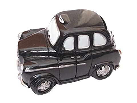Small Black Taxi Money Box