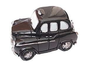 Tirelire petit taxi noir