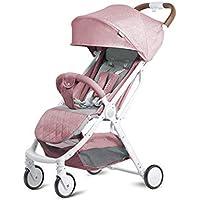 El Cochecito de bebé Puede Sentarse y colocarse Ultra liviano y fácil de Plegar Carro de