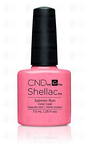 CND Shellac Vernis à ongles en gel UV polonais ~ toutes les couleurs 2011–2015 sur cette annonce ~ authentique CND ~ Approuvé vendeur par CND (saumon Run)