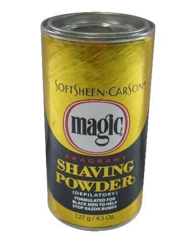 Magic Gold Shaving Powder 4.5 oz. Fragrant (Pack of 6) by Magic