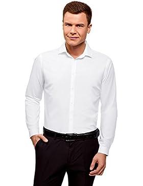 [Sponsorizzato]oodji Ultra Uomo Camicia Basic Slim Fit