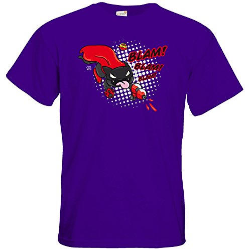 getshirts - Crapwaer - T-Shirt - Superhero - Vampcat Purple