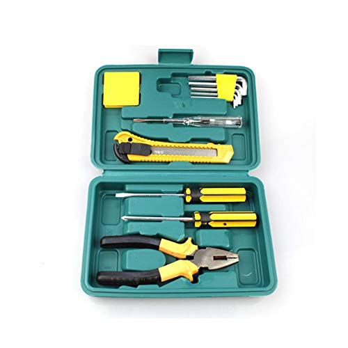 11 Pieces Tools Set Vehicle Repair Kit Auto Emergency Kit Kombination Set Spare Tools 12 in1