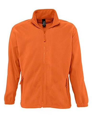SOL´S Fleecejacket North, Farbe:Orange, Größe:5XL