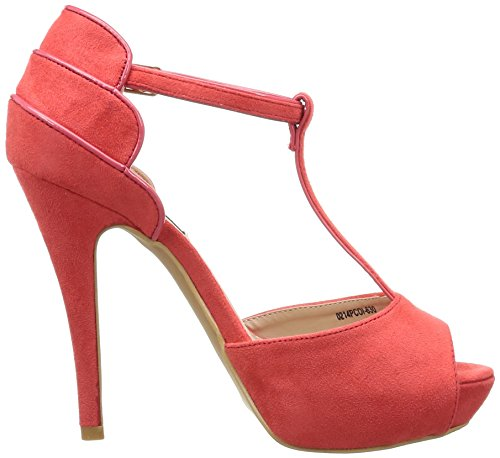 MTNG 52085 Damen Sandale rot (AFELPADO ROJO)
