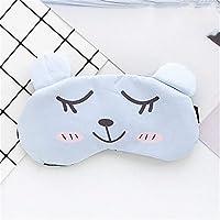 Klicop Augenmaske Baumwolle Blackout Schlaf Augenmaske + Eisbeutel Abnehmbare Kalt-und Dual-Use-Augenmaske Flexible... preisvergleich bei billige-tabletten.eu