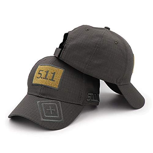 sdssup Hut 5.11 Velcro Camouflage Baseball Cap Taktischer Hut MST511-G Einheitsgröße