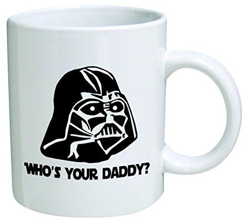 """Star Wars\""""Who \'s your Daddy? Vatertag Kaffee Tasse Collectible Neuheit 11Oz Nice Valentine Inspirierend und Motivational Souvenir"""