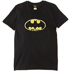 (Uomo Black -X) Batman - Distressed Logo