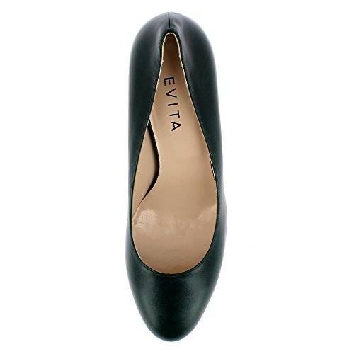 Evita Shoes Bianca, Scarpe col tacco donna Verde scuro