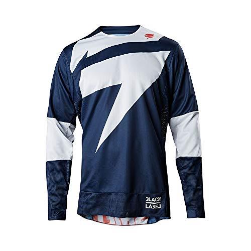 HUIMEIS Neue Geschwindigkeit Drop Anzug Sommer Fahrrad Jersey Langarm Rennanzug Langlauf-Shirt Mountainbike-Anzug (Color : 1, Size : 3XL)
