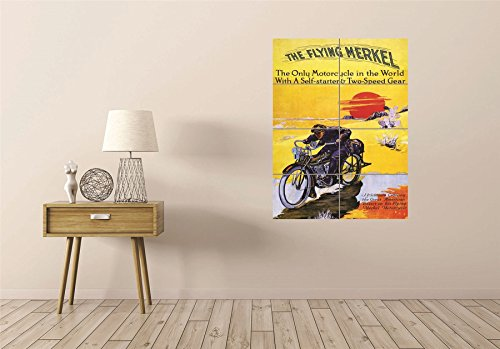 ycles Giant Wall Art Poster Print ()