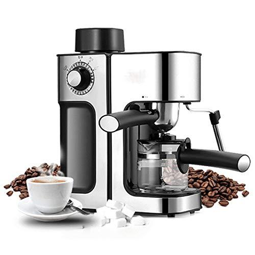DSKJ Kaffeemaschine Kommerzielle Dampf Espresso Maschine Hause Mini Halbautomatische 5 Tasse Edelstahl Kaffeemaschine - Kommerzielle Espresso-maschine