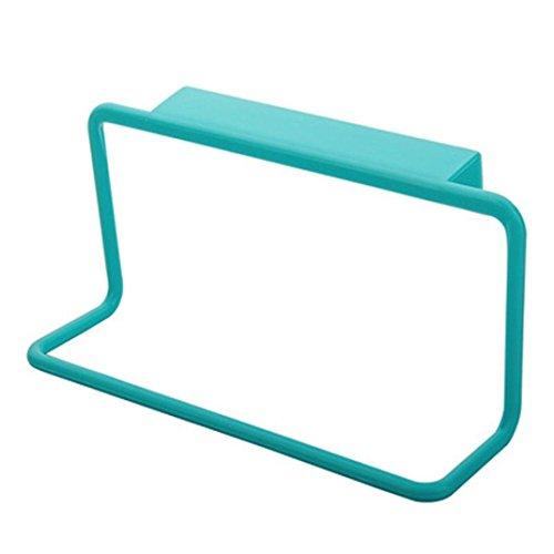 hunpta Handtuch Rack zum Aufhängen Holder Organizer Badezimmer Küche Schrank Aufhänger blau