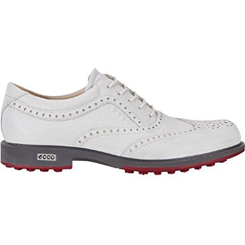 Hydromax Golfschuh (Ecco Golf 2018 Mens Hydromax Tour Golf Hybrid Lightweight Leather Golf Shoes [White, EU 43= 8.5-9UK])