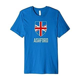 Ashford, England - British Union Jack UK T-shirt
