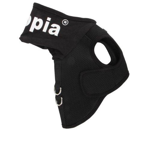 Puppia PAMA-AH987 Elite Harness, S, schwarz -