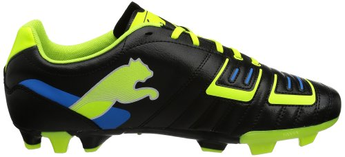 Puma  PowerCat 4 FG, Chaussures de football homme schwarz / lime