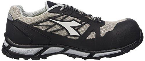 Diadora D-Trail Low S1p Sra Hro, Chaussures de Sécurité Homme Noir (Grigio/nero)