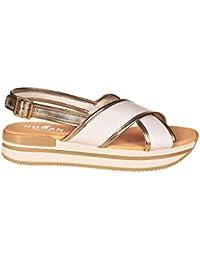 B7610 sandalo donna HOGAN H257 scarpa beige scuro gioiello shoe sandal woman [35] 4oHIG