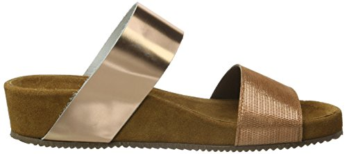 Sofie Schnoor Sandals W Wide Straps, Sandales ouvertes femme Or (Peach glitter)