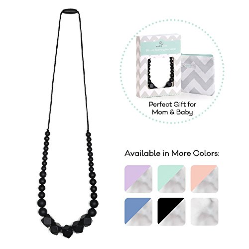 Goobie Baby Madison Silicone Teething Necklace for Mums to Wear 410foIplWwL