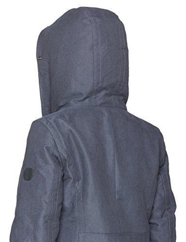 Marc O'Polo Damen Jacke Blau (Dusty Autmn Navy 822)