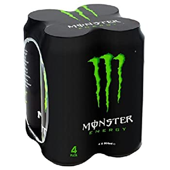 Monster Energy 4 x 500ml