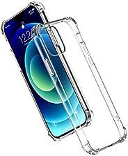 حافظة هاتف واقية شفافة من يوغرين متوافقة مع آيفون 12، آيفون 12 ماكس / برو، آيفون 12 برو ماكس