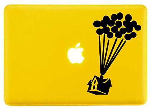 Laptop SCI-FI/Comics/Games, Motiv Up House with Ballon, Schwarz ()