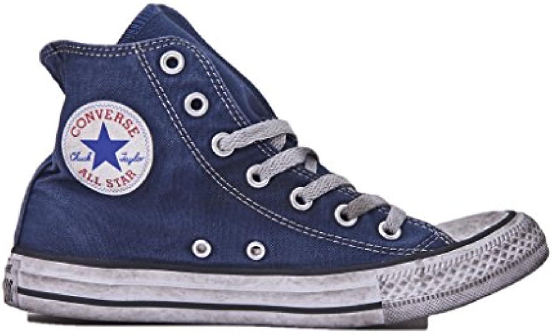 Converse, Uomo, Chuck Chuck Chuck Taylor All Star High Canvas LTD Navy Smoke In, Tela, scarpe da ginnastica Alte, Blu | Qualità Primacy  1d3049