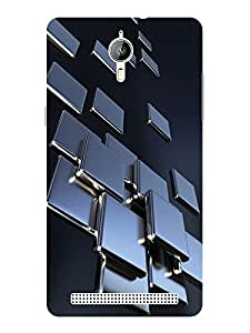 TREECASE Designer Printed Soft Silicone Back Case Cover For Panasonic P77