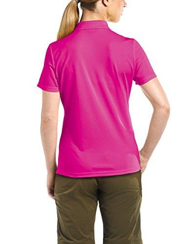 MAIER SPORTS Damen Polo Ulrike T-shirt, Rosa (Fuchsia Purple)
