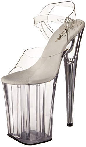 Pleaser ,  Damen Sandalen Clear/Clear