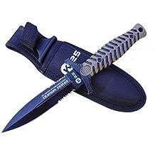 Cuchillo K25 Titanium Coated con funda Tamaño total: 24 cm