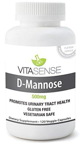 Vitasense D-Mannosio 500 Mg – Salute Urinaria - 120 Capsule by RIVENBERT
