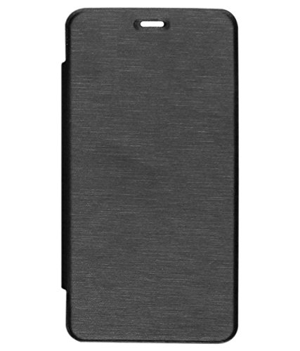 AryaMobi Flip Cover for Micromax Canvas Spark 3 Q385 - Black Colour