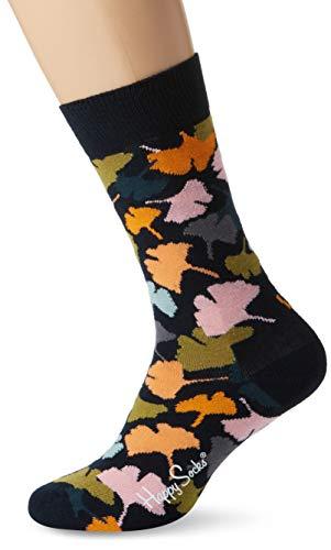 Happy Socks Herren Socken Ginko, Blau (Navy 6000), One Size (Herstellergröße: 41-46)
