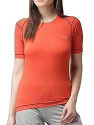 2GO Round Neck Half Sleeves Compression T-Shirt