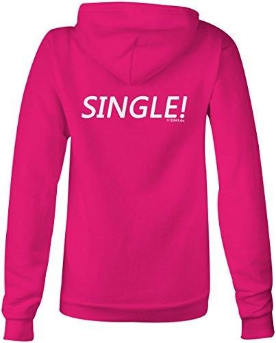 Single ★ Confortable veste pour femmes ★ imprimé de haute qualité et slogan amusant ★ Le cadeau parfait en toute occasion pink