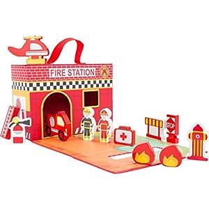 Small Foot Valigetta Pompieri FSC 100% 4020972111128 LEGO